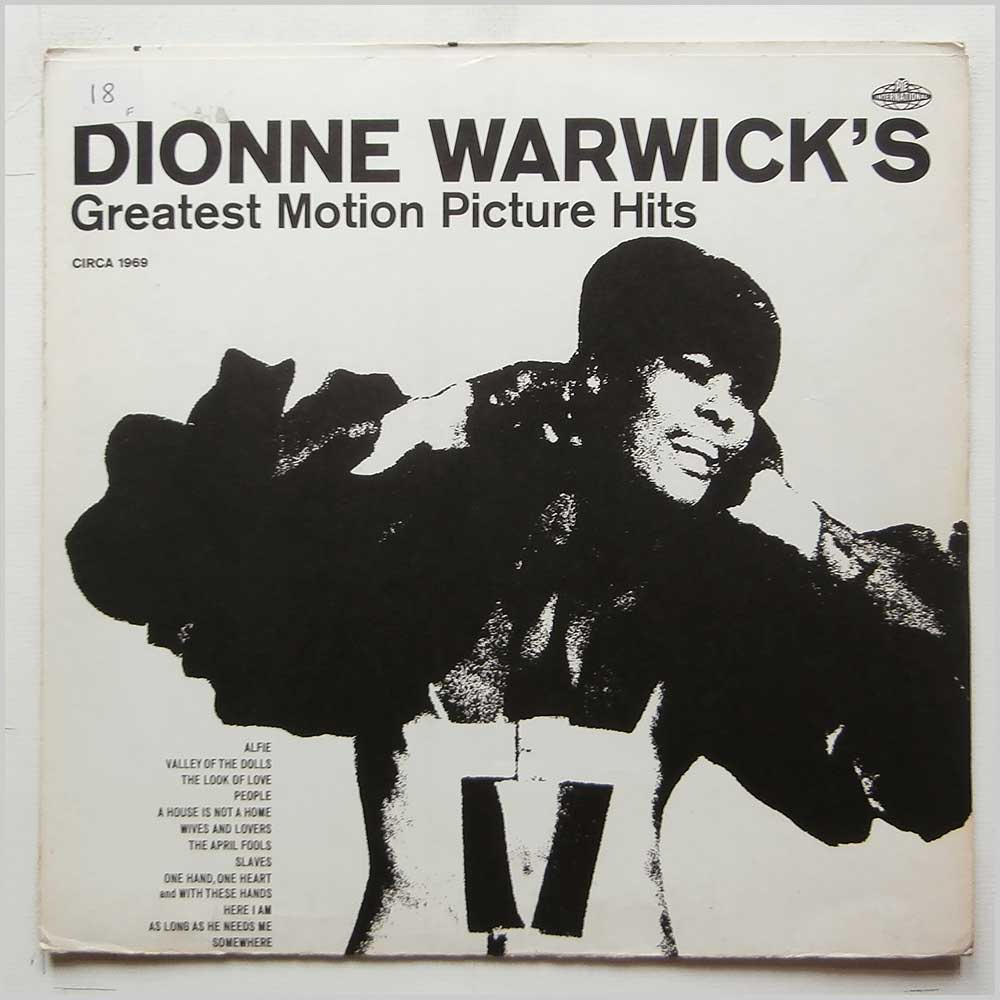 Dionne Warwick - Dionne Warwick's Greatest Motion Picture Hits (NSPL 28 126)