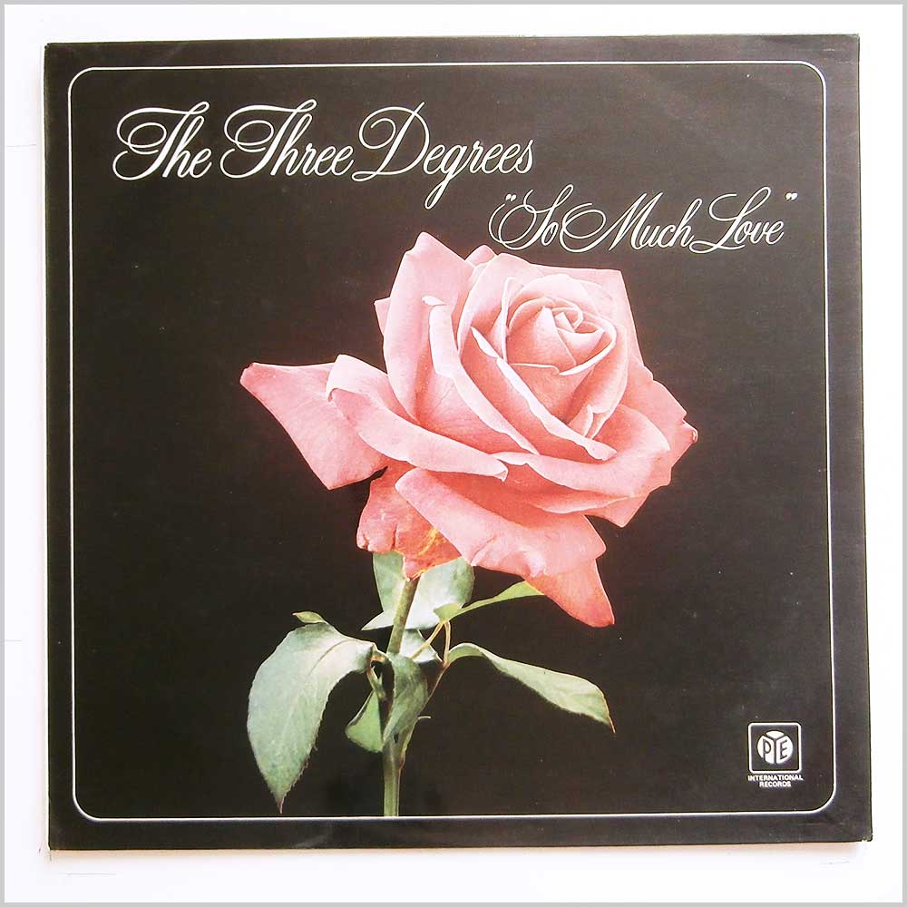 The Three Degrees - So Much Love (NSPL 28212)
