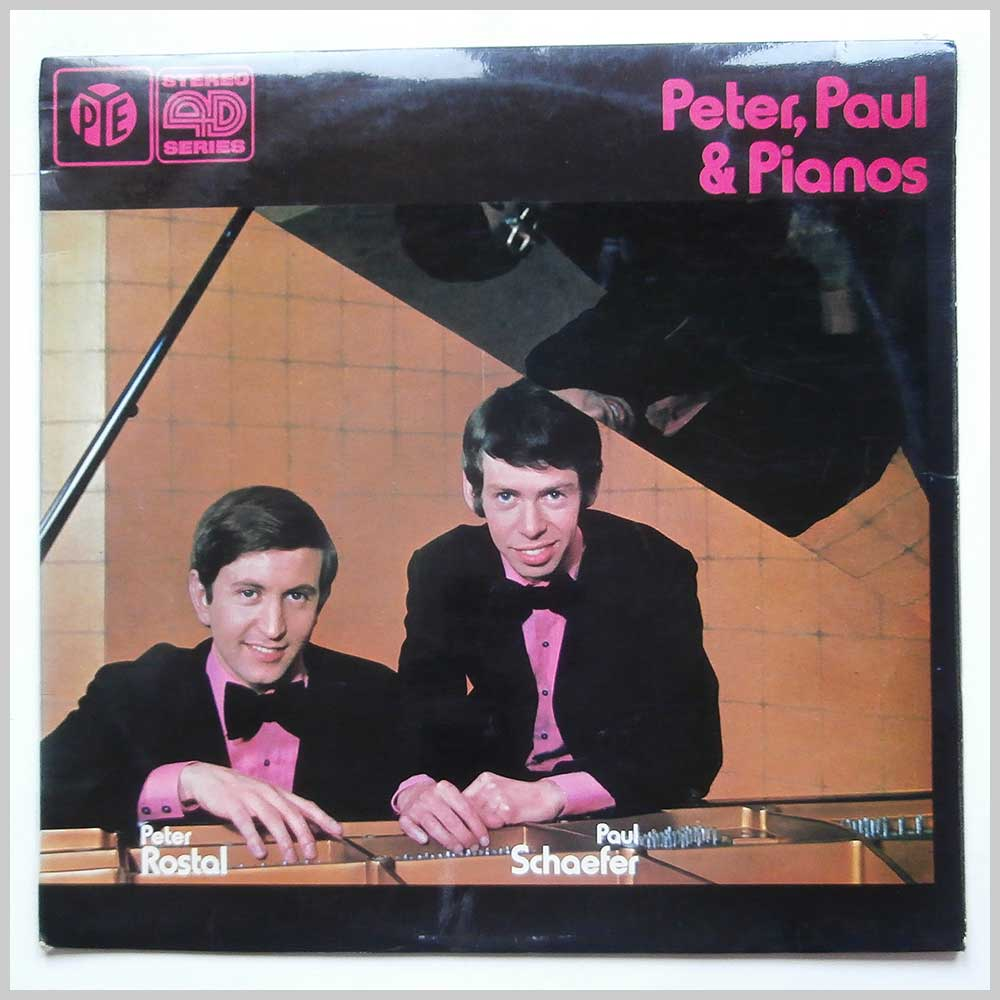 Peter Rostal and Paul Schaefer - Peter, Paul And Pianos (NSPL 41005)