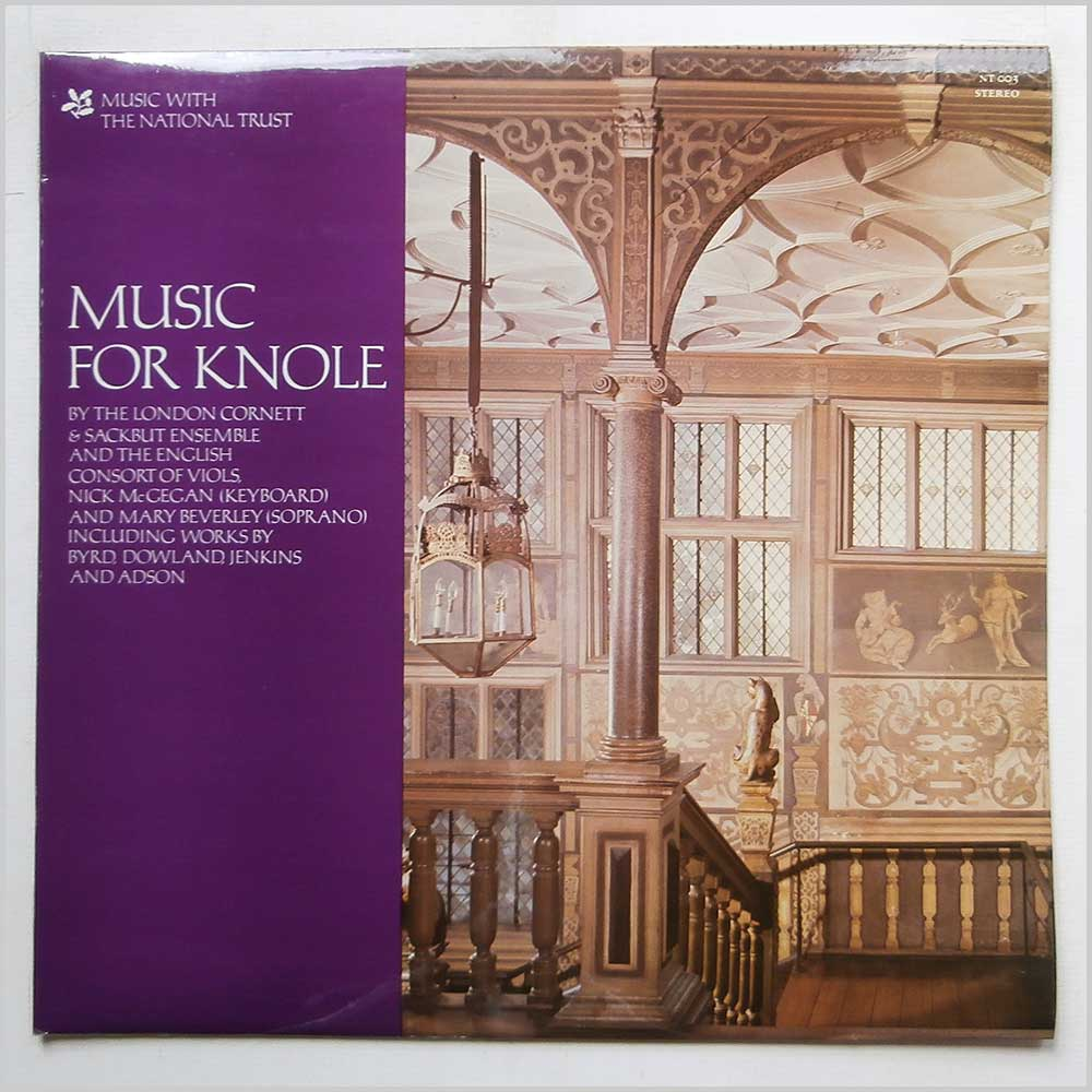 The London Cornett and Sackbut Ensemble and The English Consort Of Viols - Music For Knole (NT 003)