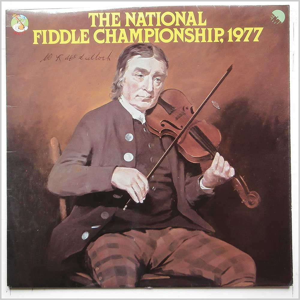 Various - The National Fiddle Championship, 1977 (NTS 130)