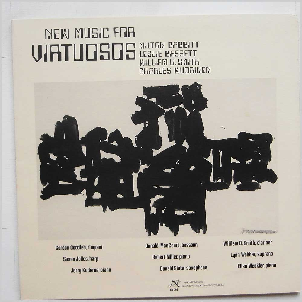 Milton Babbitt - New Music for Virtuosos (NW 209)