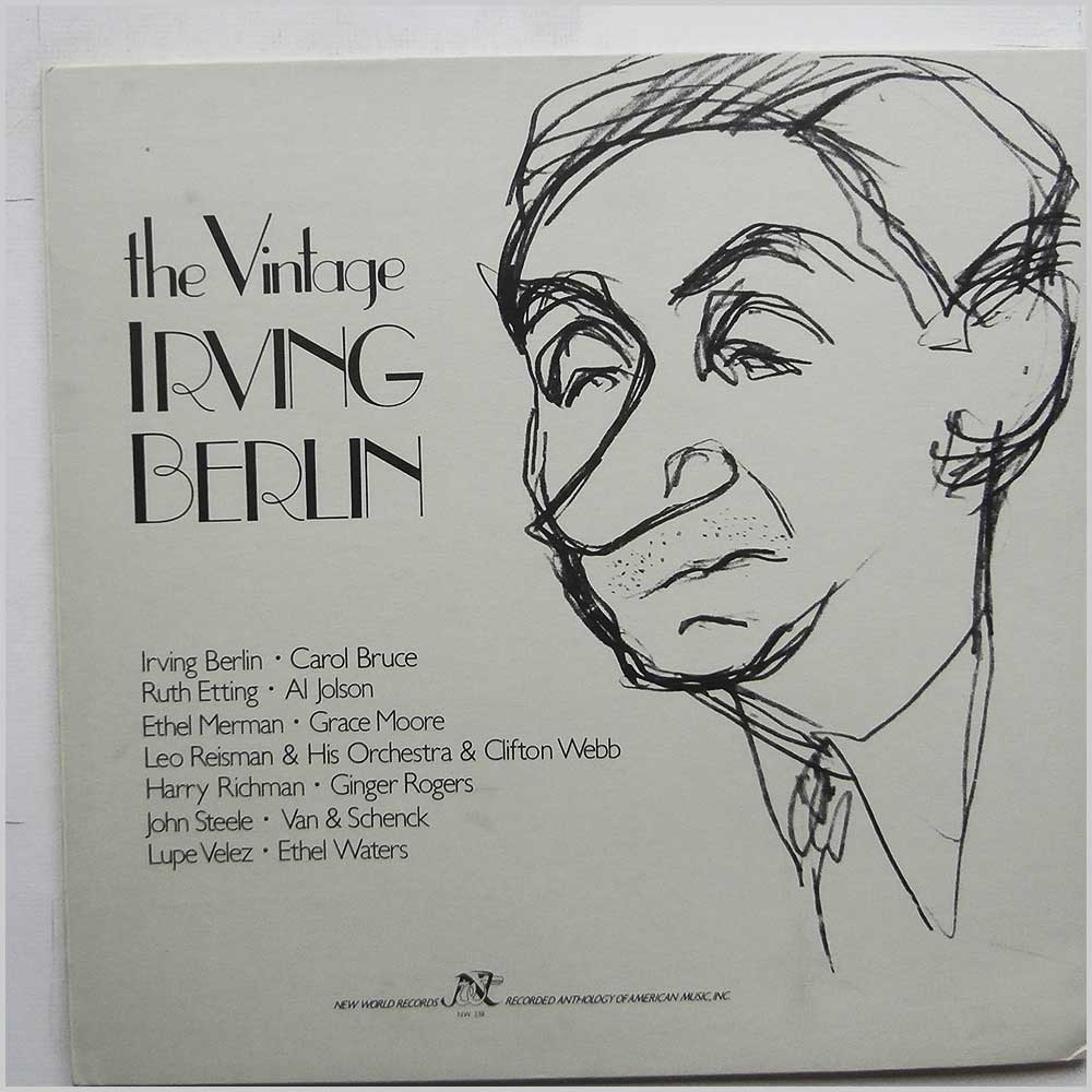 Various - The Vintage Irving Berlin (NW 238)