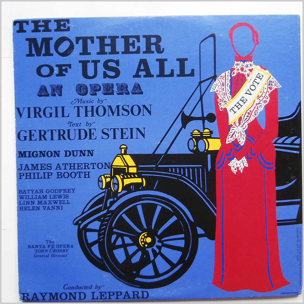 Virgil Thomson, Gertrude Stein - The Mother Of Us All (NW 288-289 )