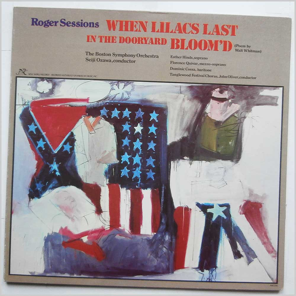 Roger Sessions - When Lilacs  Last In The Dooryard Bloom'd (NW 296)