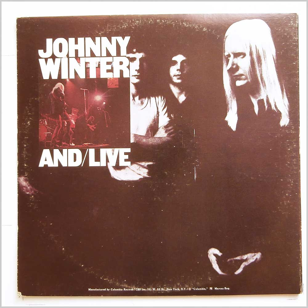 Johnny Winter - And/Live (OG 33651)