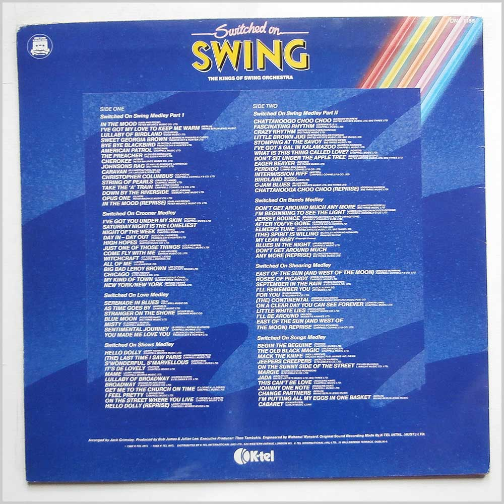 The Kings of Swing Orchestra - Switched On Swing (ONE 1166)