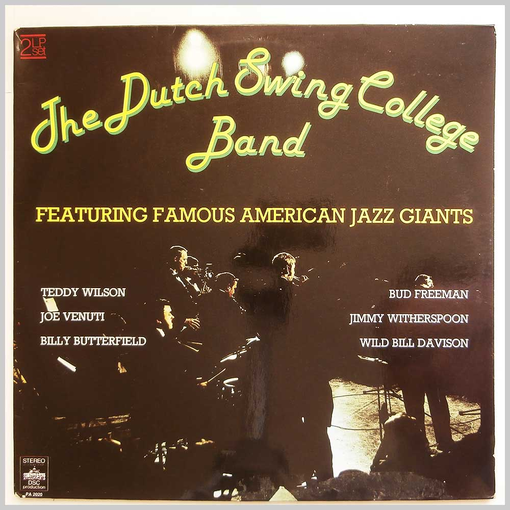 The Dutch Swing College Band - The Dutch Swing College Band Featuring Famous American Jazz Giants (PA 2020)