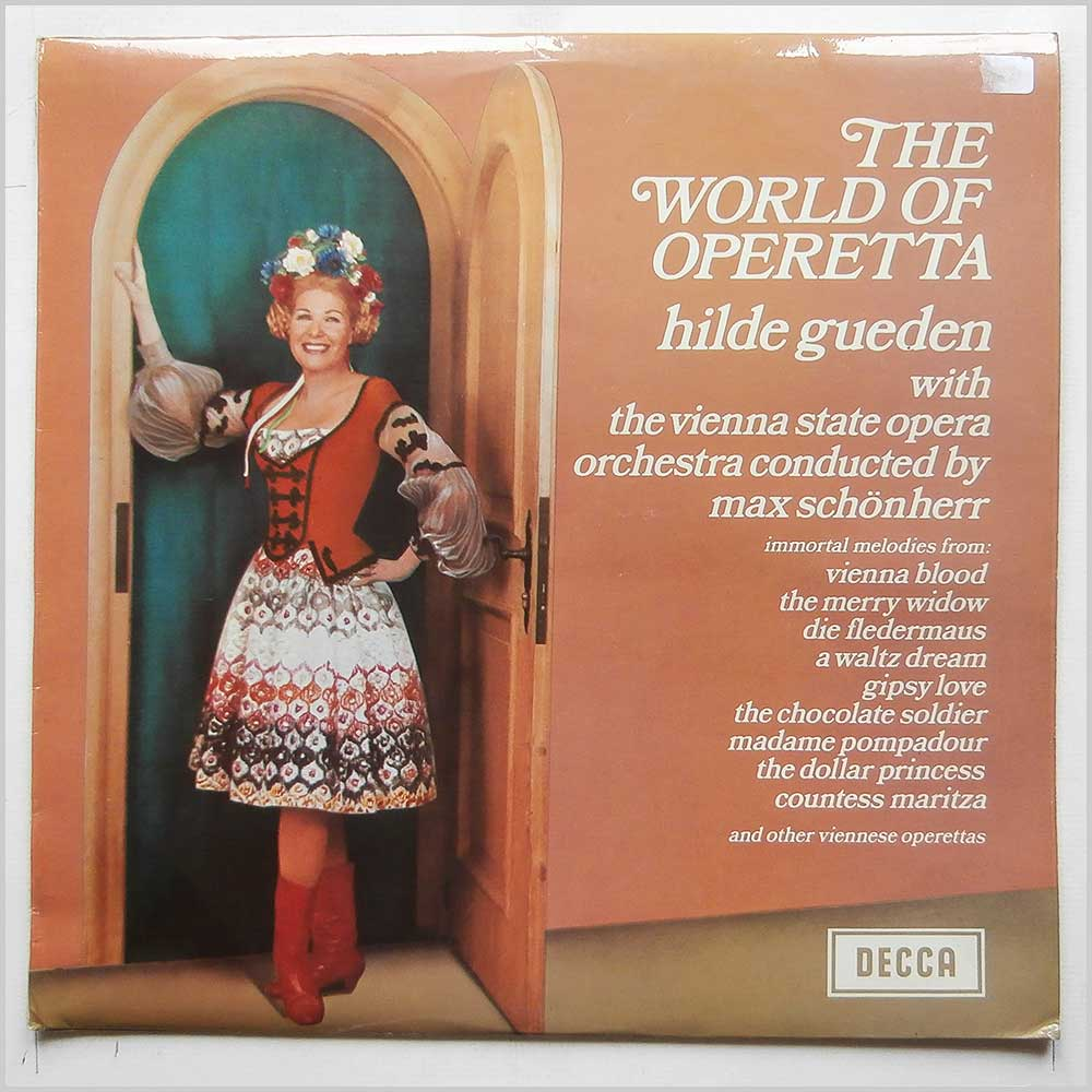 Hilde Gueden, Max Schonherr, The Vienna State Opera - The World Of Operetta (PA 52)