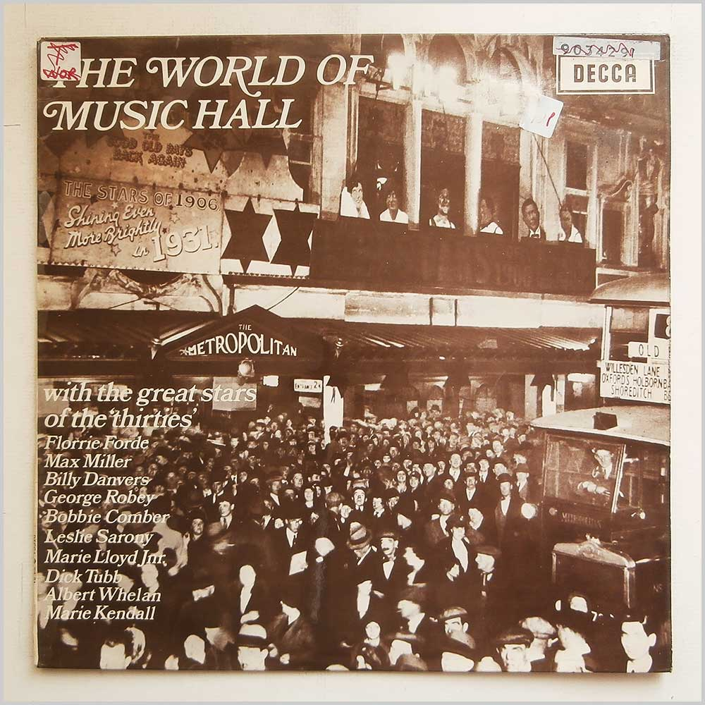 Various - The World Of Music Hall (PA 81)