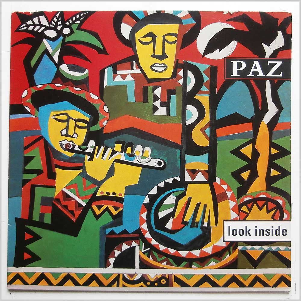 Paz - Look Inside (PALP001)