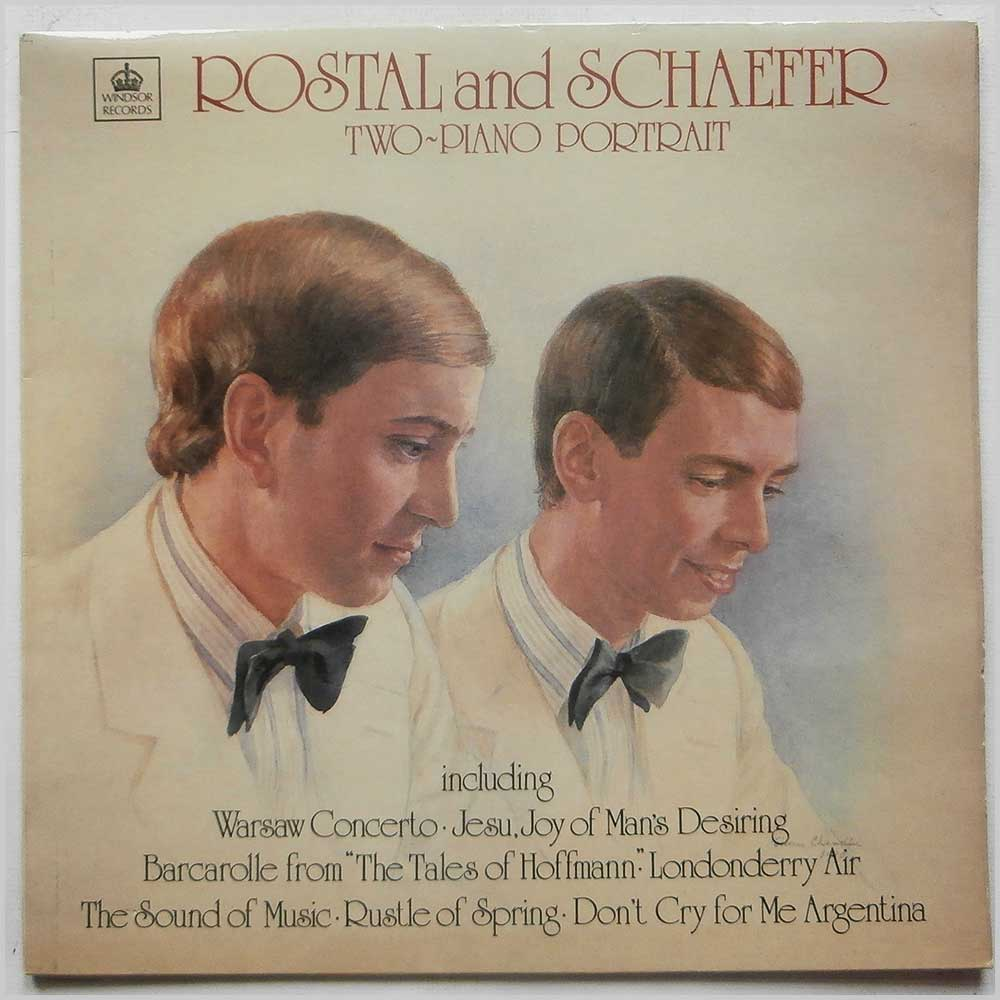 Rostal And Schaefer - Two-Piano Portrait (PBM 704)