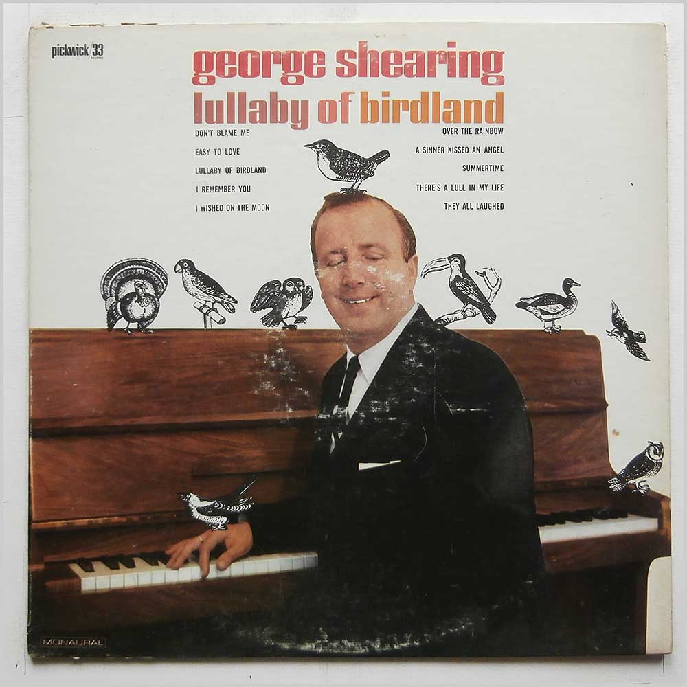 George Shearing - Lullaby Of Birdland (PC3039)