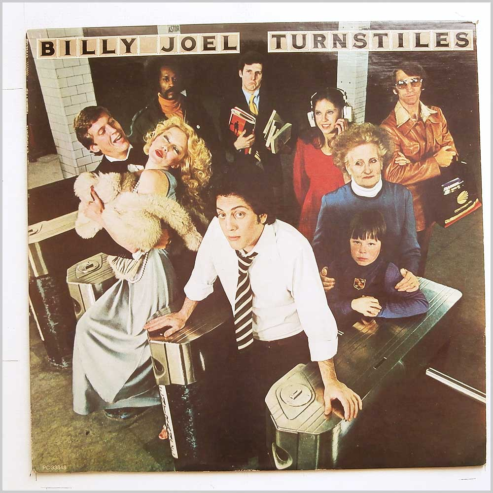 Billy Joel - Turnstiles (PC 33848)