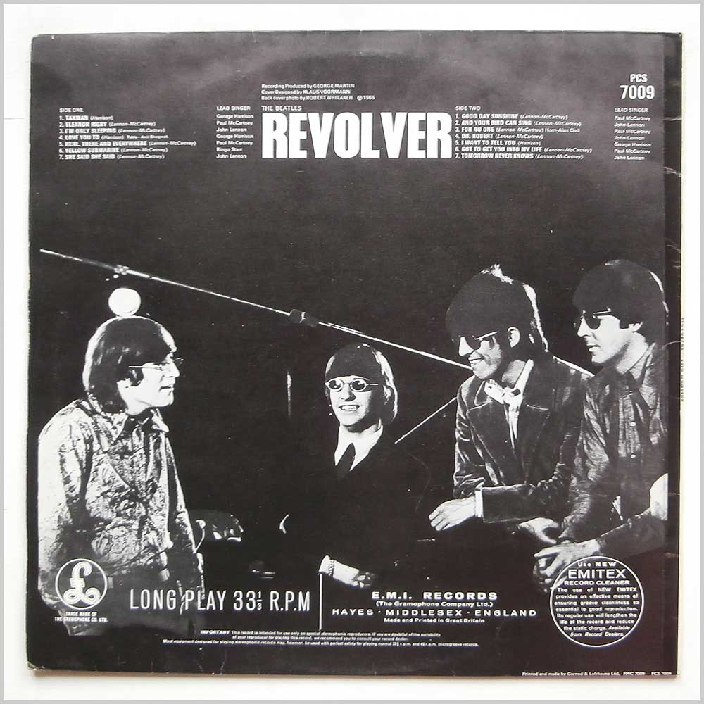 The Beatles - Revolver (PCS 7009)