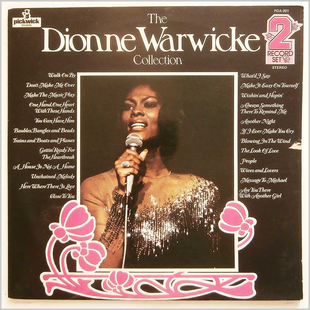 Dionne Warwick - The Dionne Warwicke Collection (PDA001)
