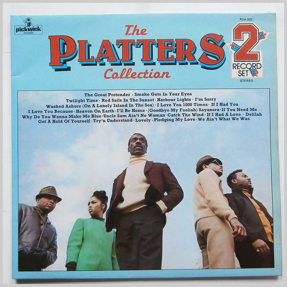 The Platters - The Platters Collection (PDA 003)