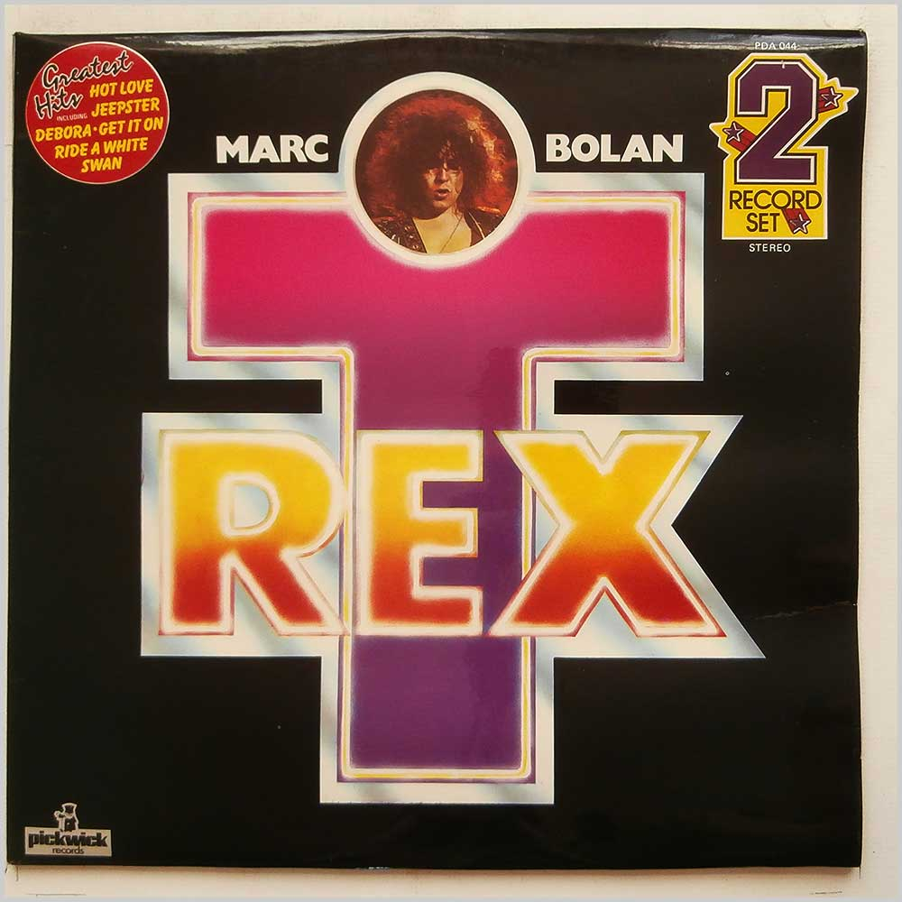 Marc Bolan and T. Rex - Greatest Hits (PDA 044)