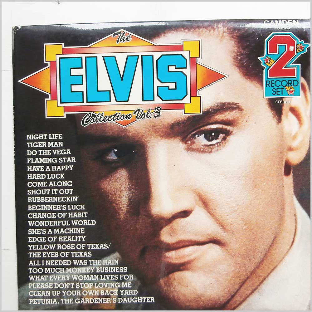 Elvis Presley - The Elvis Presley Collection Vol.3 (PDA 054)