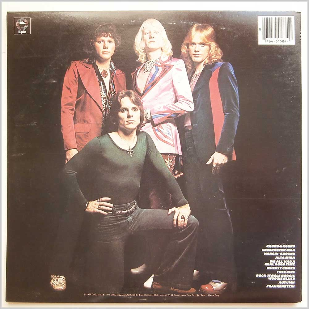 The Edgar Winter Group - They Only Come Out At Night (PE 31584)