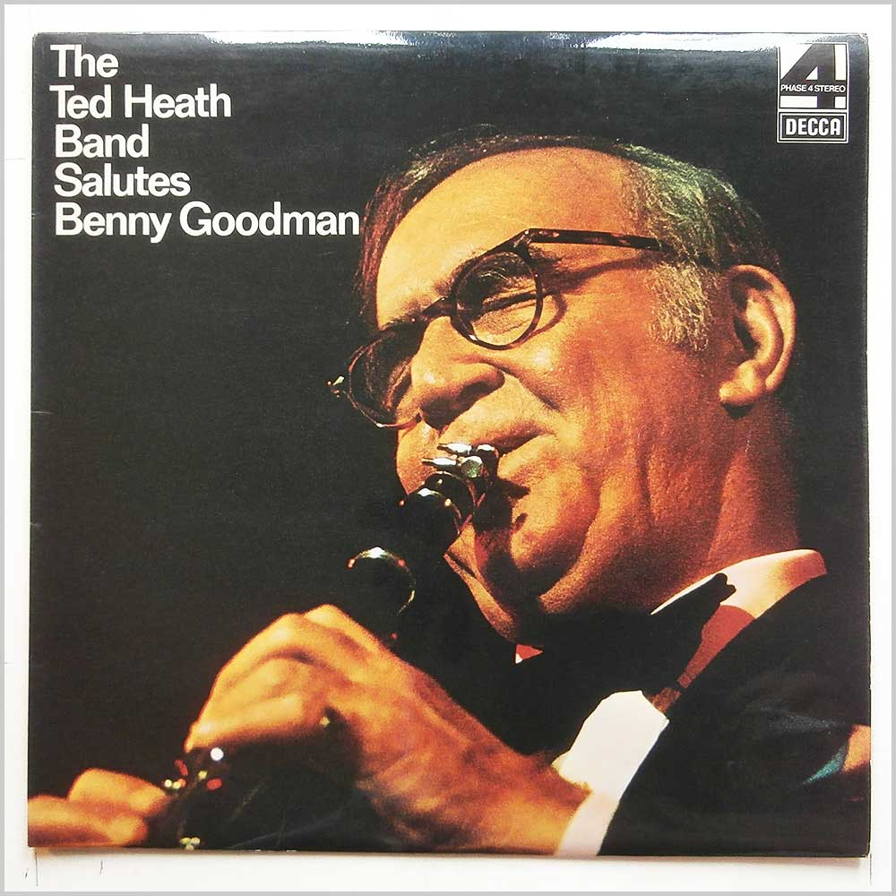 The Ted Heath Band - The Ted Heath Band Salutes Benny Goodman (PFS 4357)