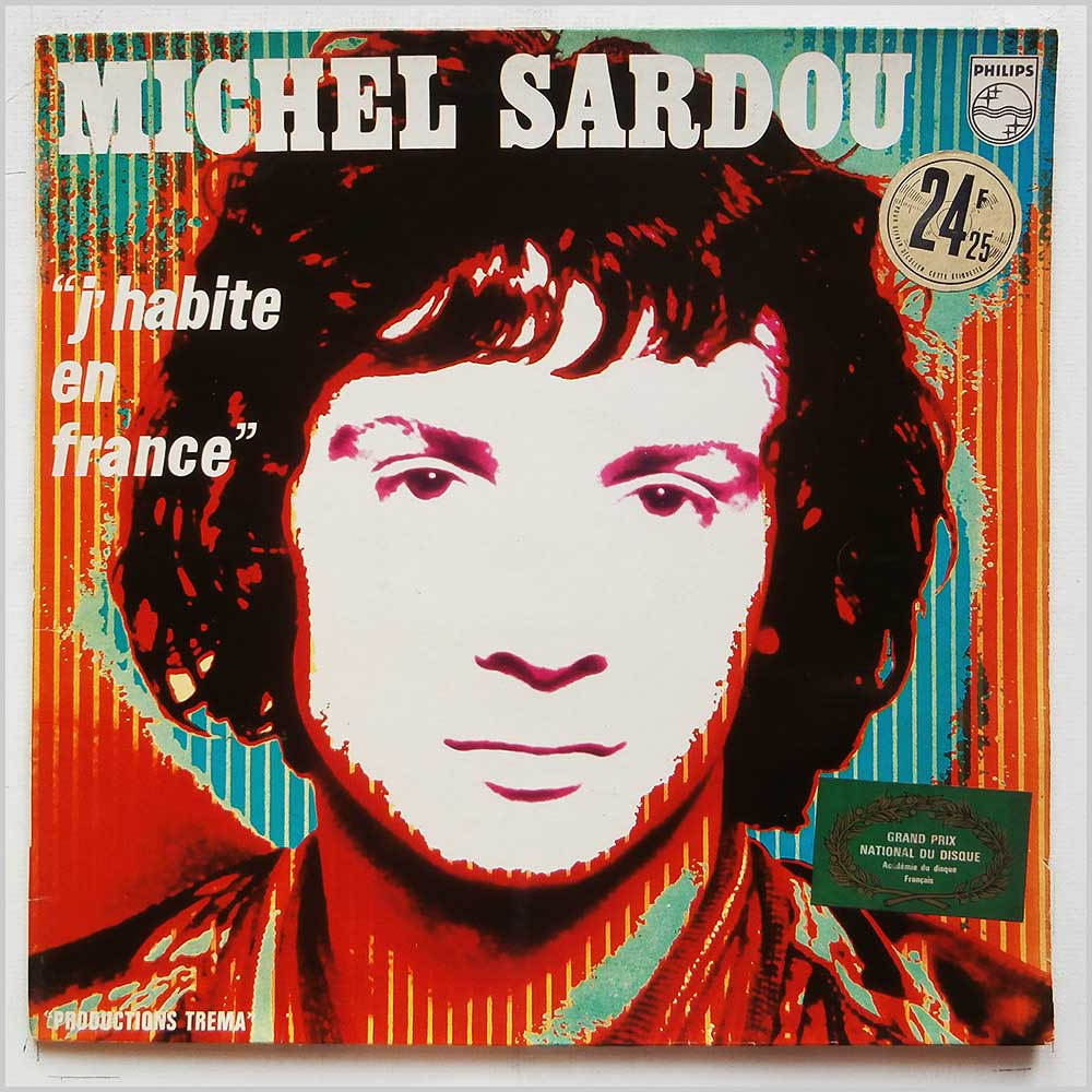 Michel Sardou - J'Habite En France (PHILIPS 6311 056)