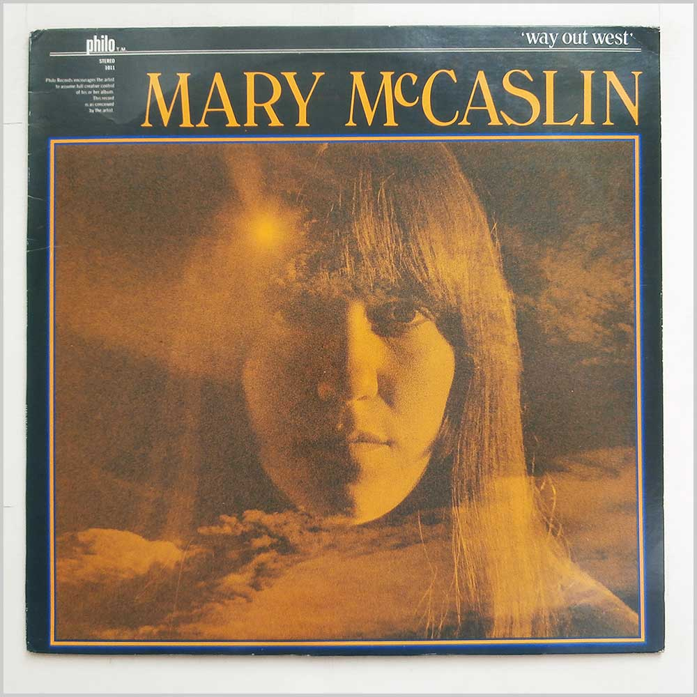 Mary McCaslin - Way Out West (Philo 1011)