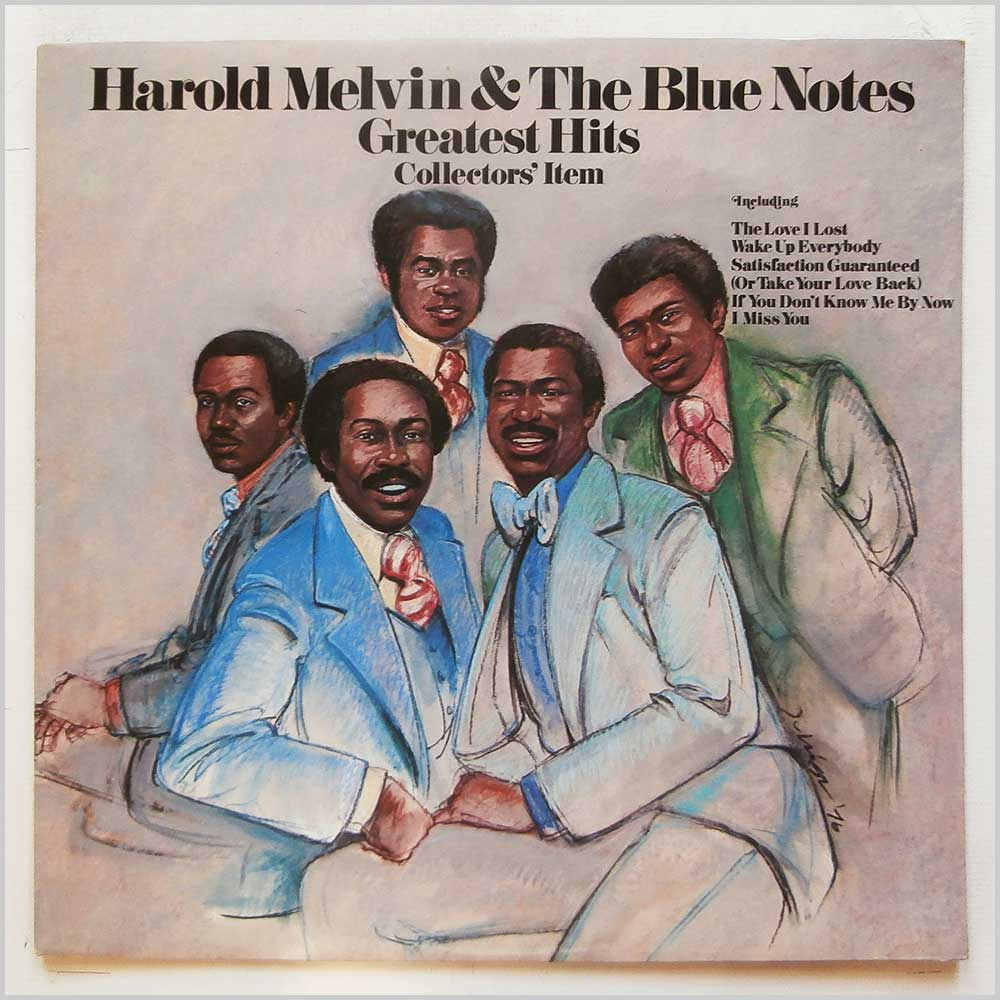 Harold Melvin and The Blue Notes - Greatest Hits (PIR 81431)