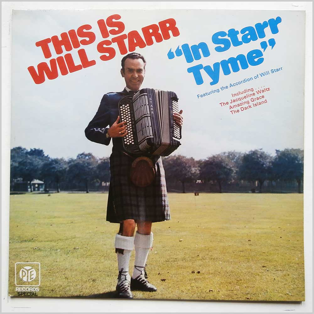 Will Starr - This Is Will Starr, In Starr Tyme (PKL 5519)