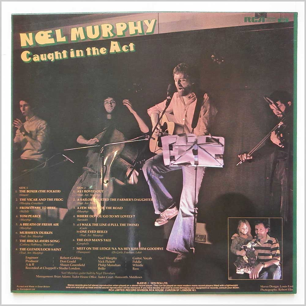 Noel Murphy - Caught In The Act (PL25151)