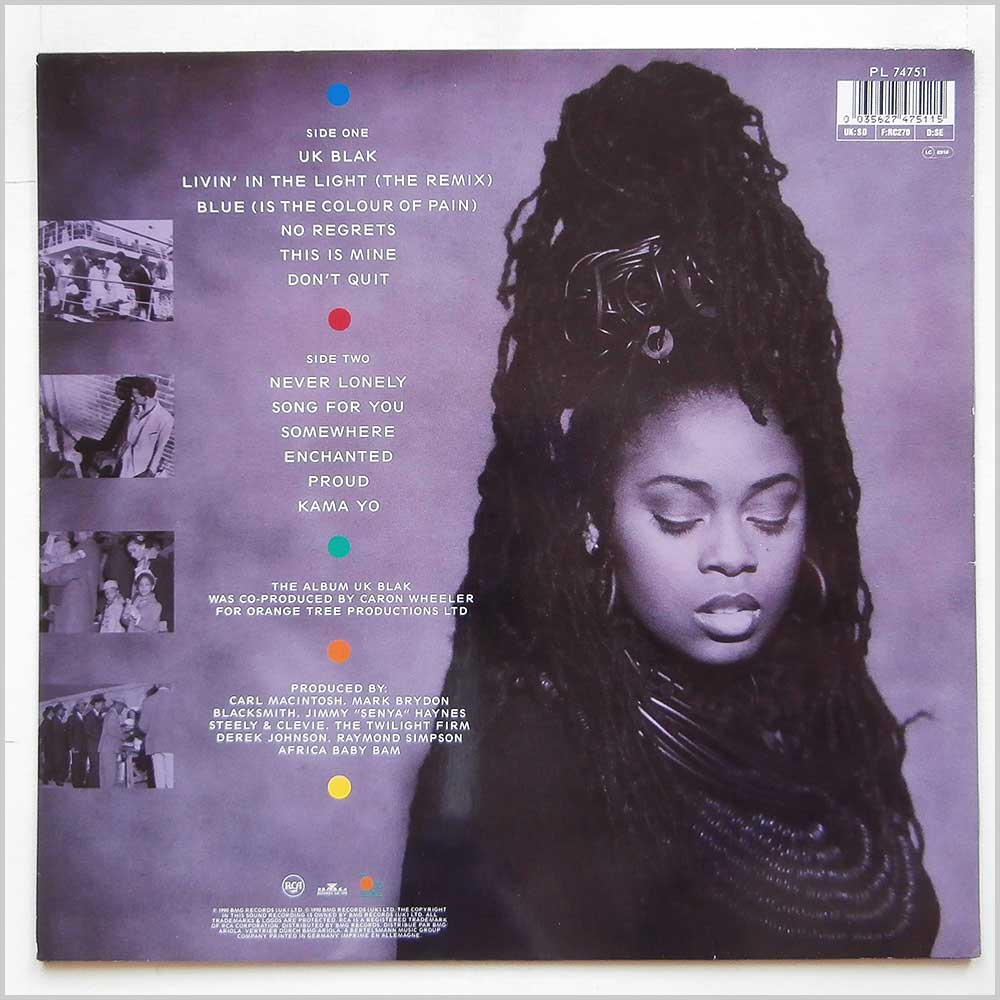 Caron Wheeler - UK Blak (PL 74751)