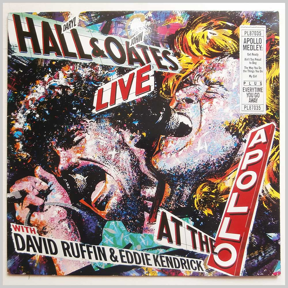 Daryl Hall and John Oates - Live At The Apollo with David Ruffin and Eddie Kendrick (PL87035)