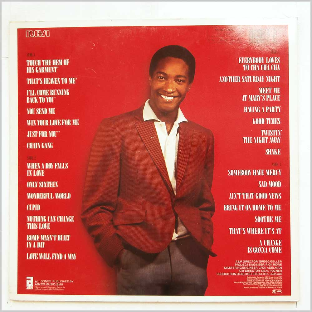 Sam Cooke - The Man And His Music (PL 87127(2))