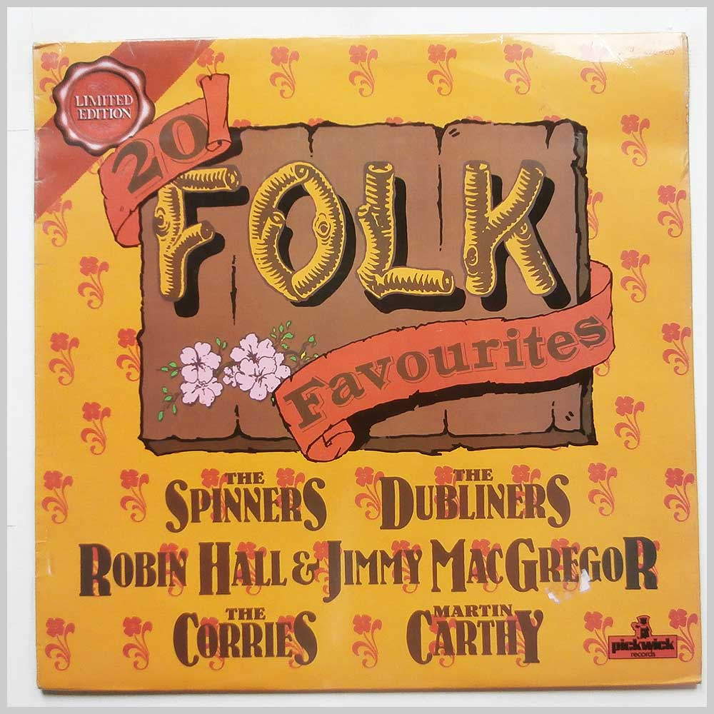 Various - 20 Folk Favourites (PLE 7016)