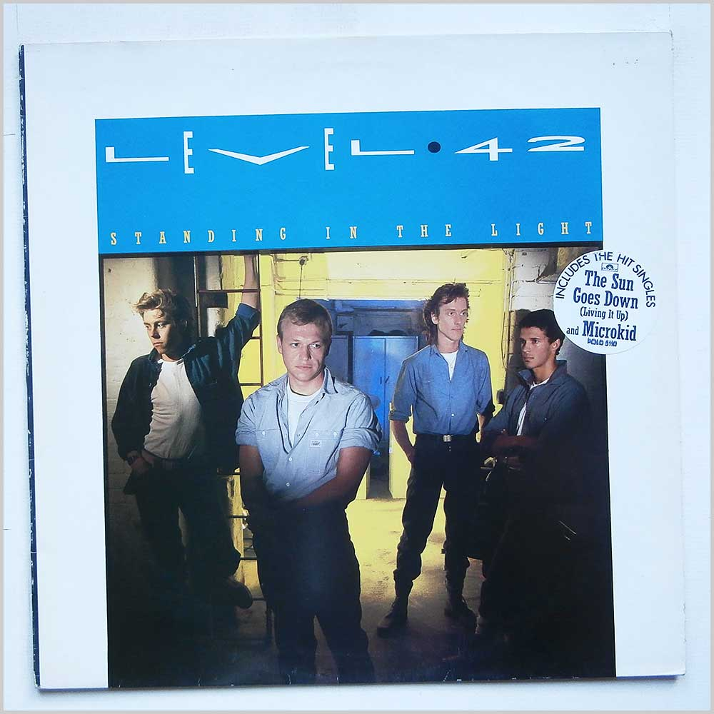 Level 42 - Standing In The Light (POLD 5110)