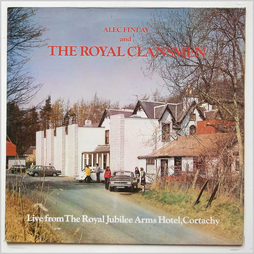 Alec Finlay And The Royal Clansmen - Live From The Royal Jubilee Arms Hotel, Cortachy (PR 7133)