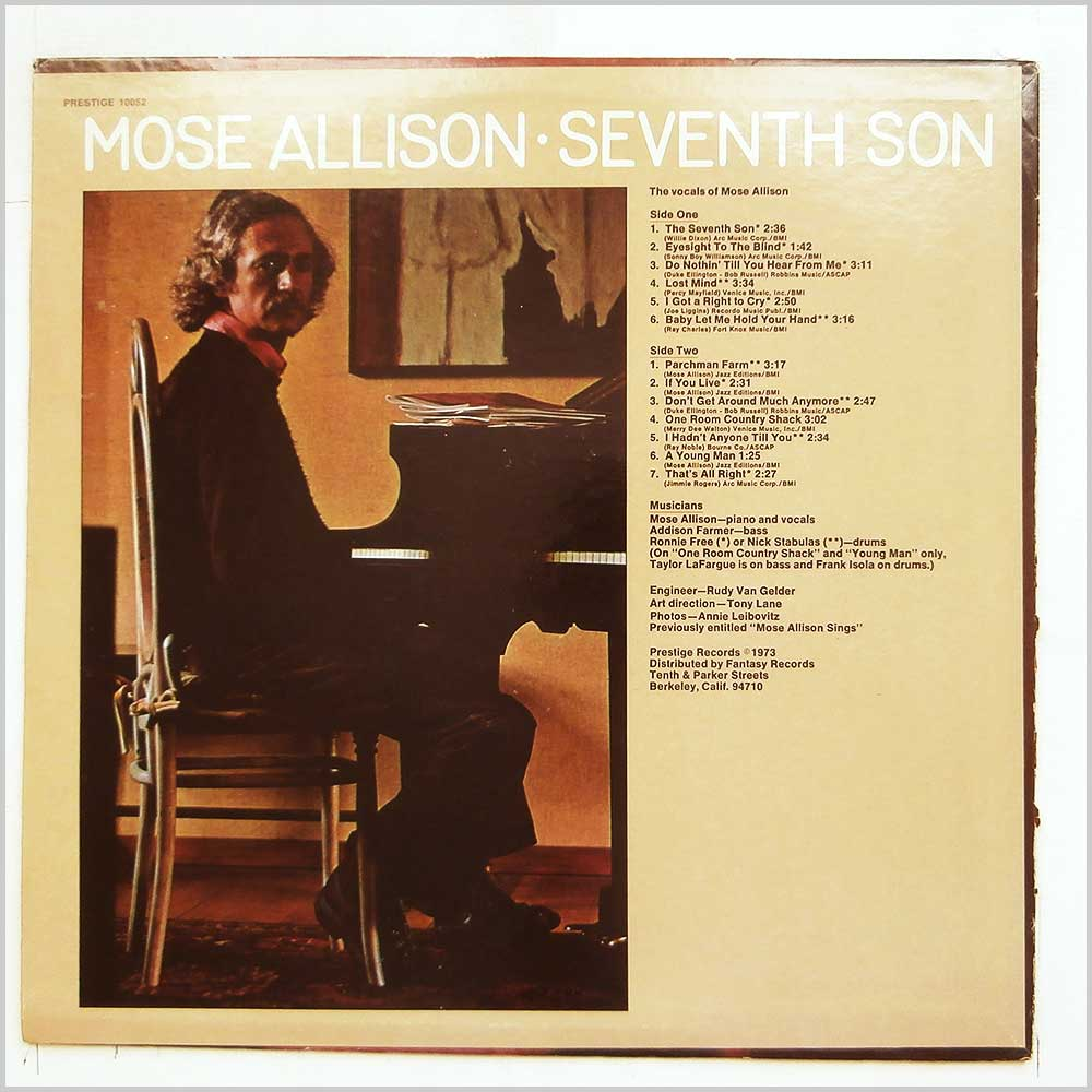 Mose Allison - Seventh Son (PRESTIGE 10052)