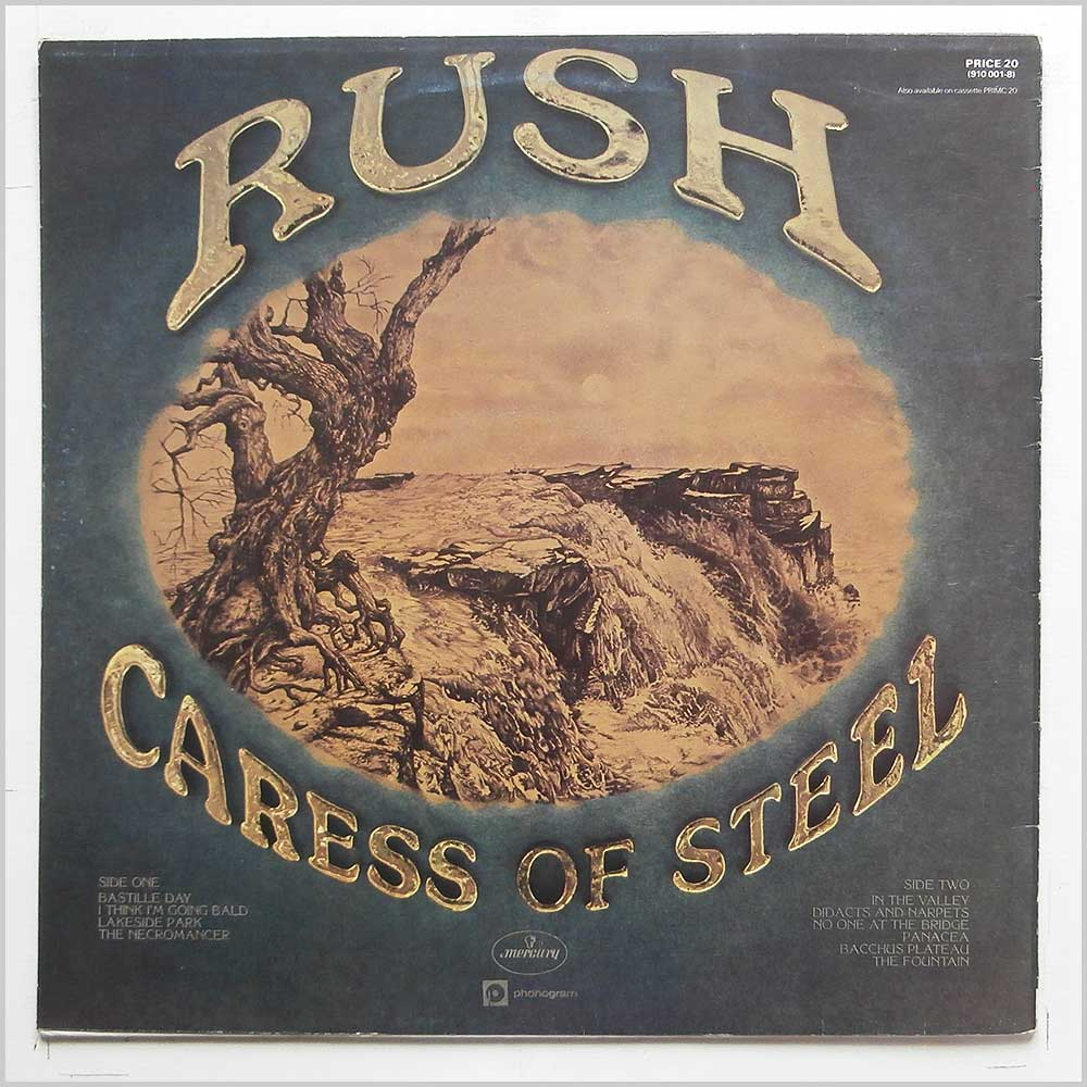 Rush - Caress Of Steel (PRICE 20)