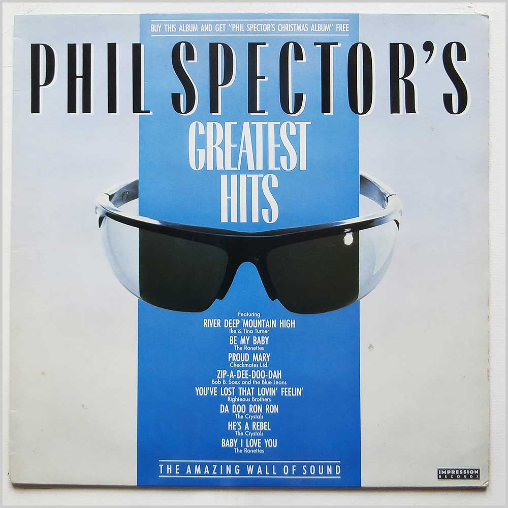 Phil Spector - Phil Spector's Greatest Hits (PSLP 1)