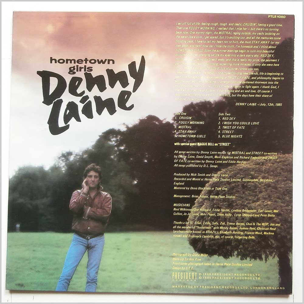 Denny Laine - Hometown Girls (PTLS 1080)
