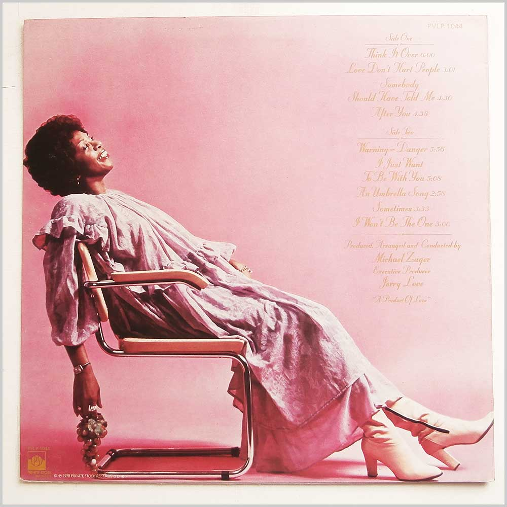 Cissy Houston - Think It Over (PVLP 1044)