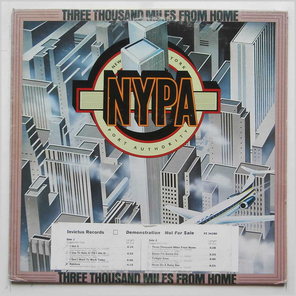 New York Port Authority - Three Thousand Miles From Home (PZ 34380)