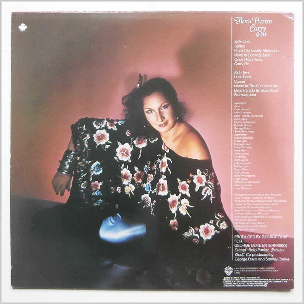 Flora Purim - Carry On (QBS 3344)