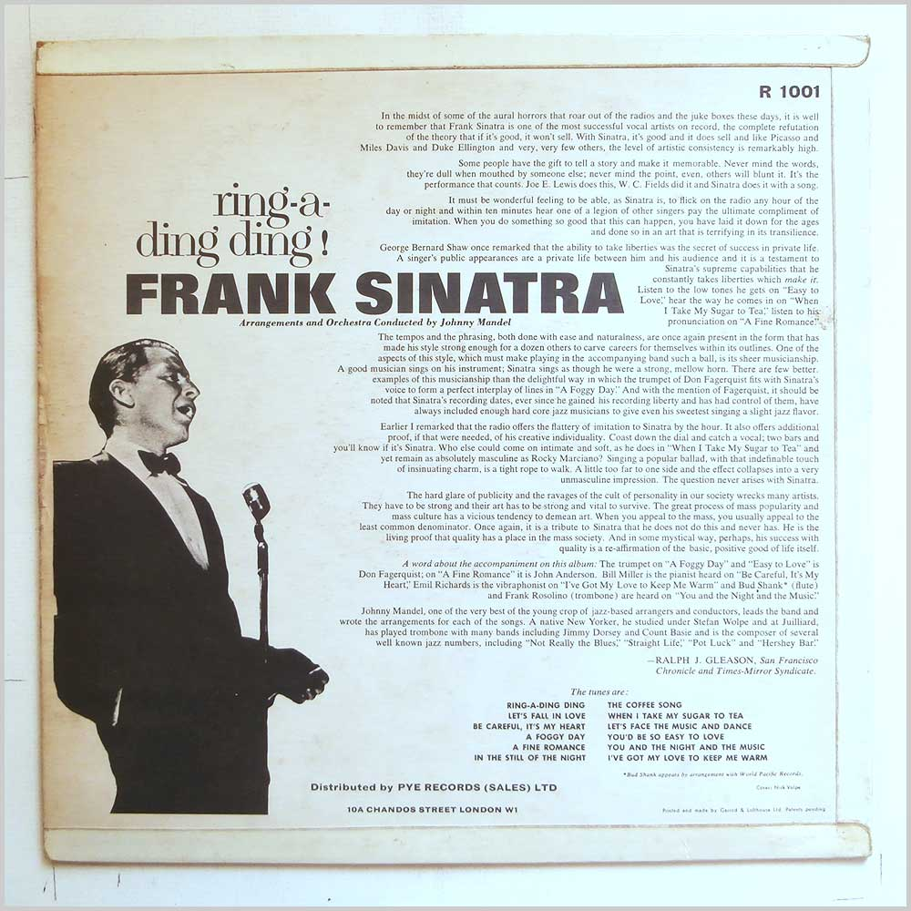Frank Sinatra - Ring-A-Ding-Ding (R 1001)