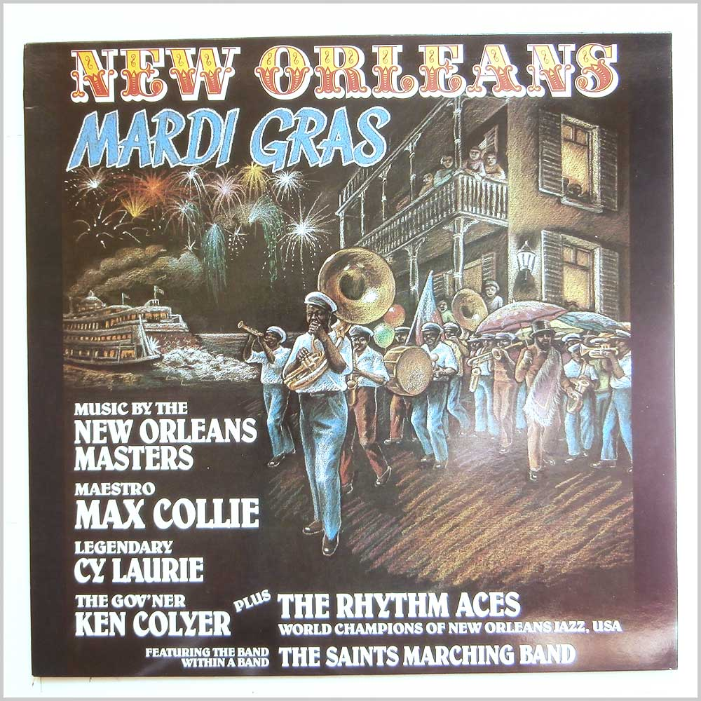 Max Collie Rhythm Aces, The Saints Marching Band - New Orleans Mardi Gras (R107)