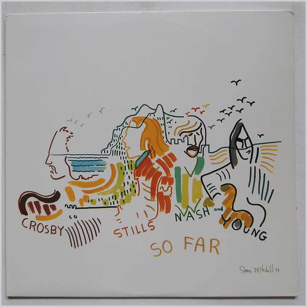 Crosby, Stills, Nash and Young - So Far (R 130230)