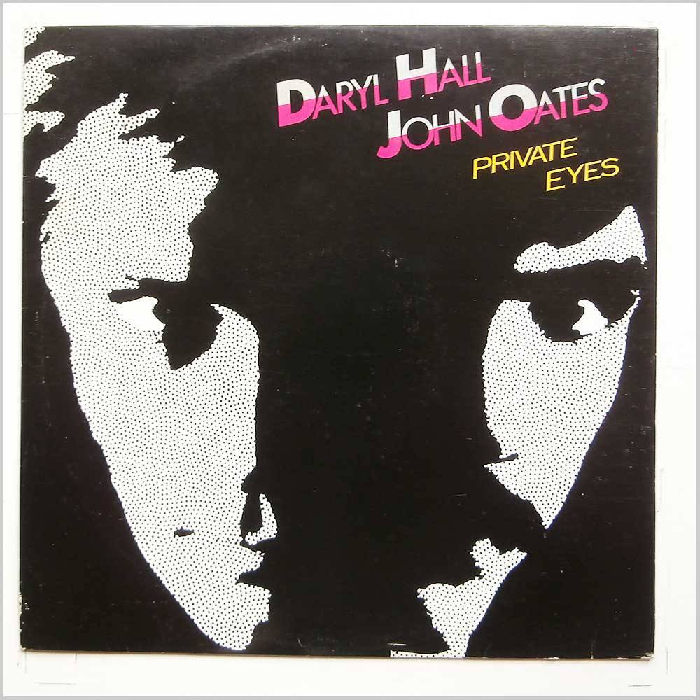 Daryl Hall and John Oates - Private Eyes (RCLP 20225)