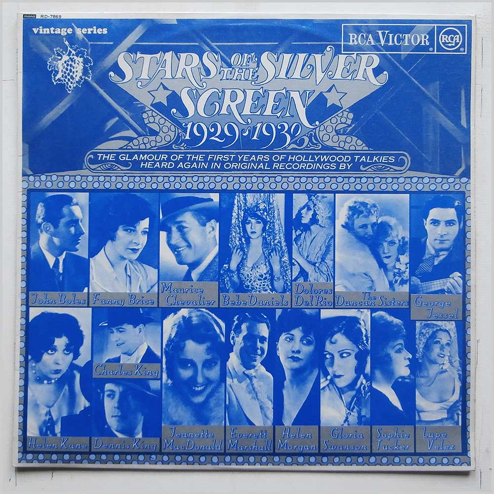 Various - Stars Of The Silver Screen 1929-1930 (RD-7869)