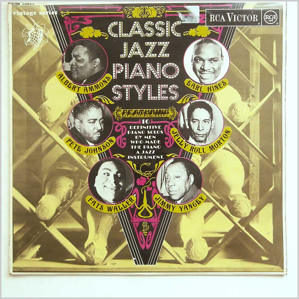 Various - Classic Jazz Piano Styles (RD-7915)