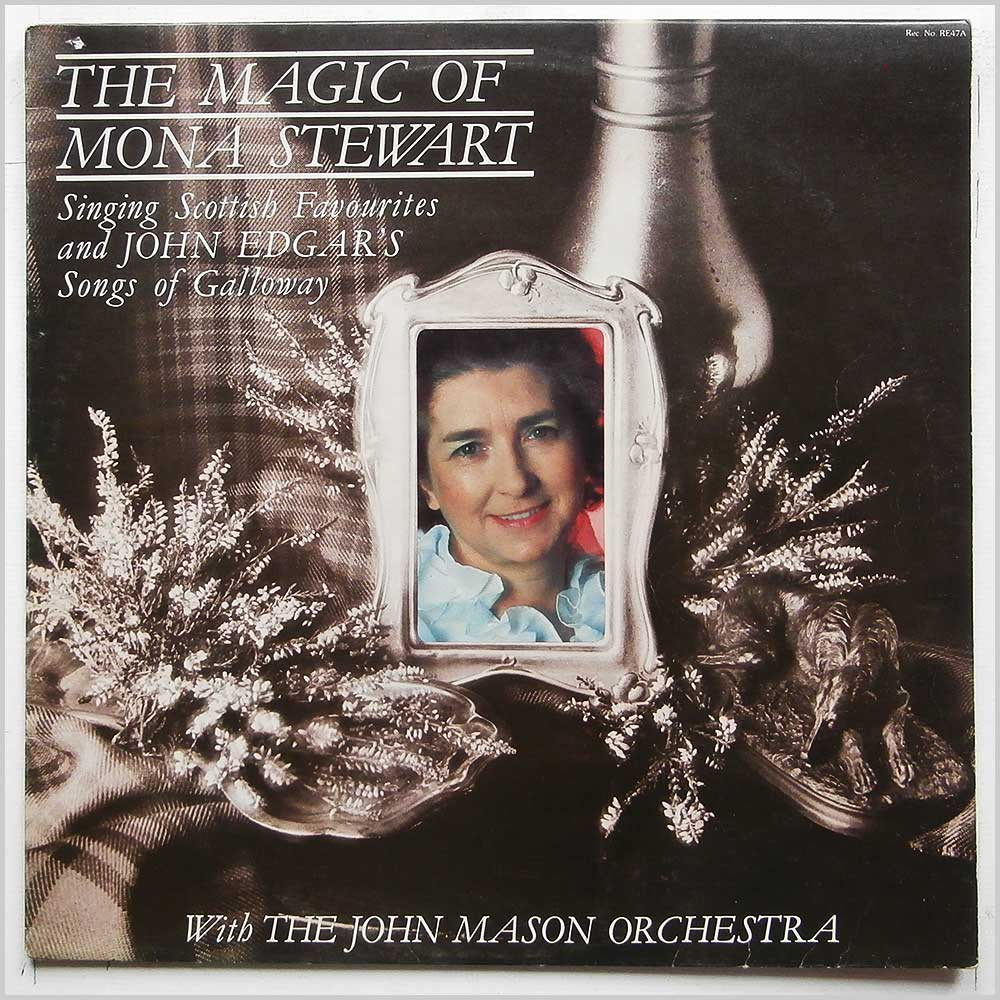 Mona Stewart, John Mason Orchestra - The Magic Of Mona Stewart (RE47A)